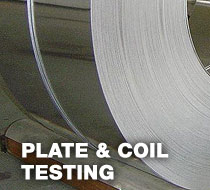 steel testing Cleveland area